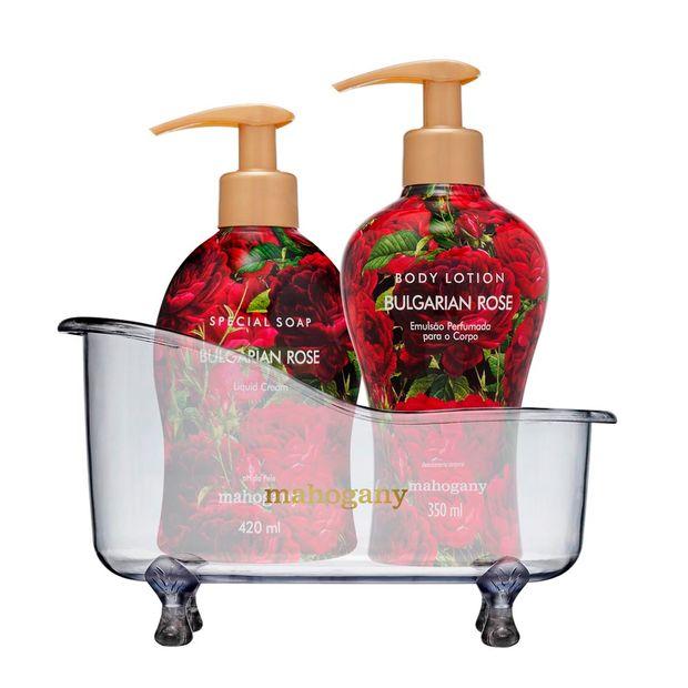Kit-Banheira-com-Sabonete-Liquido-e-Hidratante-Bulgarian-Rose